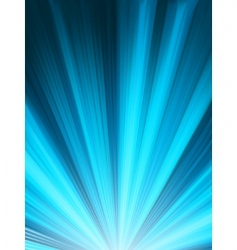 blue color design with burst vector image vector image