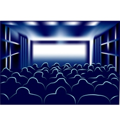 movie and theater vector image