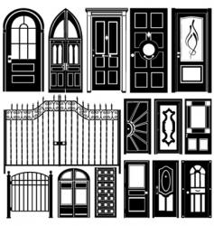 door design vector image