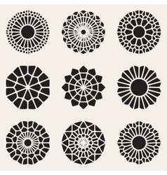 Decorative Mandala Ornaments vector image