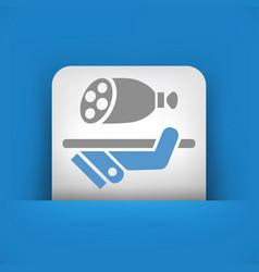Delicatessen icon vector