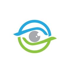 Eye care logo vector