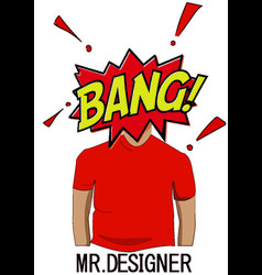 Mr desinger vector