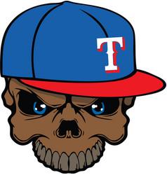 Rangers skull vector