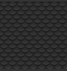 Tile fish scales seamless pattern abstract vector