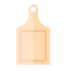 Board kitchen icon flat style Isolated on vector image