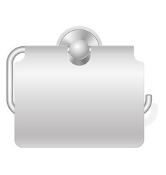 toilet paper holder 02 vector image
