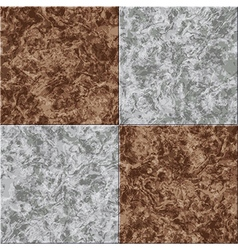Abstract gray brown marble seamless texture tiled vector
