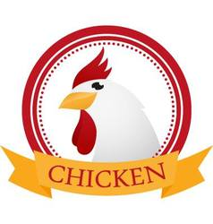 Chicken Symbol vector