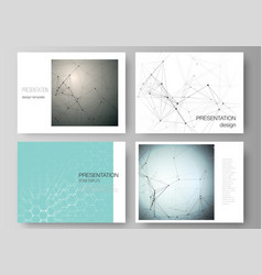 Minimalistic abstract layout the vector