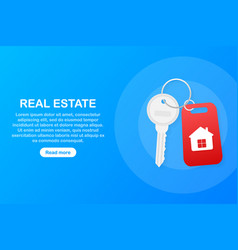 real estate pictogram concept template for sales vector image