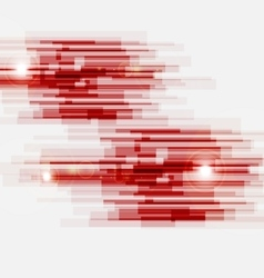 Red abstract straight lines background vector