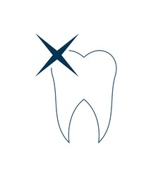 Tooth-380x400 vector image