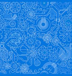 clockworks gear background vector image