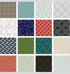 seamless pattern texture of abstract sticks vector image vector image