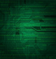Abstract technology style background with detailed vector