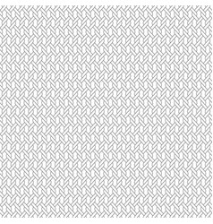 Black line interlocking rope pattern vector