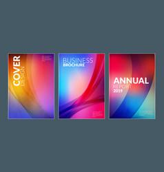 Business brochure cover design templates modern vector