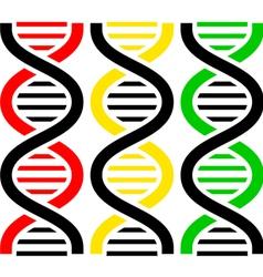 DNA Symbols vector