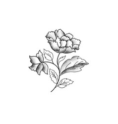 floral background garden flower bouquet spring vector image