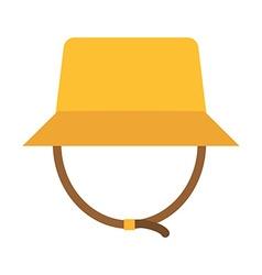 Safari Panama Hat vector image