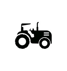 tractor icon design template isolated vector image