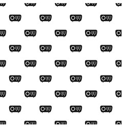 Tuned radio pattern seamless vector