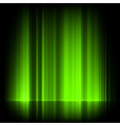 Northern lights vector image vector image