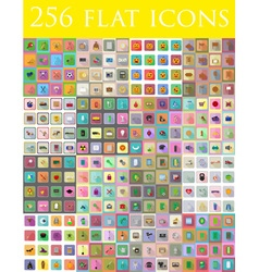 flat icons 14 vector image vector image
