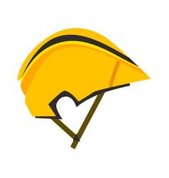 bicycle helmet protective wear vector image