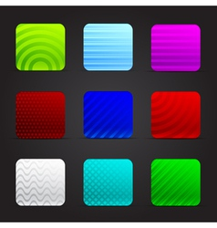 Conceptual of colorful squares vector image