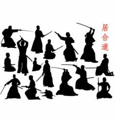 samurais vector image vector image