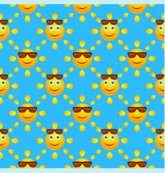 Bright summer seamless pattern vector