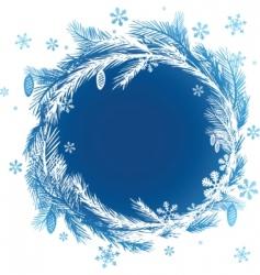 Christmas design element vector image
