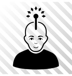 Optical Neural Interface Icon vector