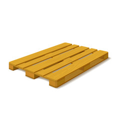 Pallet vector image