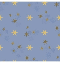 stars seamless pattern vector image