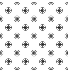 An ancient compass pattern simple style vector image