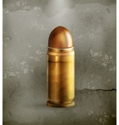 Bullet old style vector image vector image