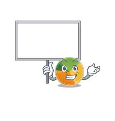 A cute picture pie chart cute cartoon vector