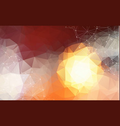 abstract polygonal pastel background with vector image