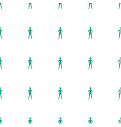 Exercising icon pattern seamless white background vector