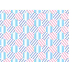 fun and simple summer pattern of stripes vector image