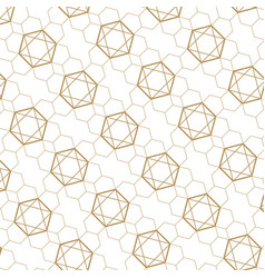 gold background brown texture geometric p vector image