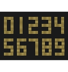 Golden numbers vector