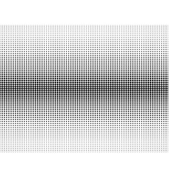 halftone pattern black and white vector image