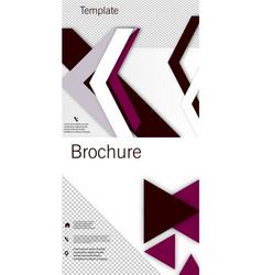 Set of poster flyer pamphlet brochure cover vector