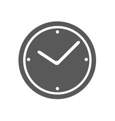 clock icon simple vector image