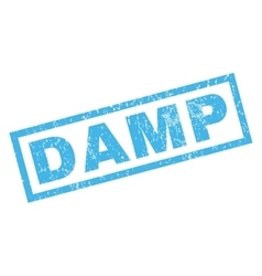 Damp Rubber Stamp vector