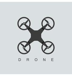 Drone icon vector